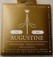 "Corde ""Augustine Imperial Red"" 650467 in nylon per concerto-chitarra"