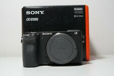Sony Alpha A6500 Premium E-mount APS-C 24.2MP Digital Camera - Black (Body Only)