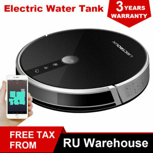 LIECTROUX C30B Robot Vacuum Cleaner,4000Pa Suction,2D Map Navigation,WiFi App
