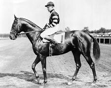 Triple Crown Racehorse WAR ADMIRAL Glossy 8x10 Photo Print Charles Kurtsinger