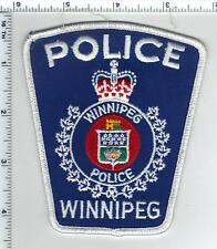 Winnipeg Police (Canada) Uniform Take-Off Shoulder Patch from the 1980's