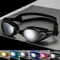 Professional Adult Waterproof Anti-Fog UV Shield Swim Glasses Swimming Goggles