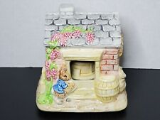 New ListingVintage Schmid Beatrix Potter Ceramic Music Box Figurine