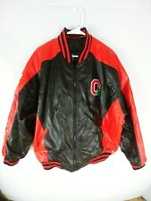 Steve & Barry Ohio State Buckeyes  Zip Faux Leather Jacket xl