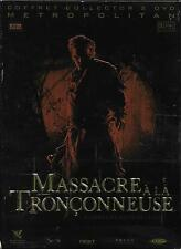 COFFRET DIGIPACK COLLECTOR 2 DVD--MASSACRE A LA TRONCONNEUSE--MARCUS NISPEL