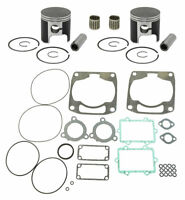 2001 Arctic Cat Mountain Cat 800 LE SPI Pistons Bearings Top End Gasket Kit 81mm