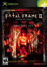 FATAL FRAME II: CRIMSON BUTTERFLY -- DIRECTOR'S CUT  ( JEUX MICROSOFT XBOX ) CIB