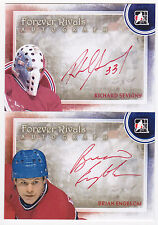 12-13 ITG Brian Engblom Auto Forever Rivals Autograph Canadiens 2012