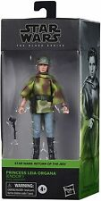 Star Wars Black Series Princess Leia Endor Battle Poncho Figure **IN STOCK