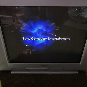 "Sony WEGA TRINITRON 27"" CRT Retro Gaming TV KV27FS120 W/REMOTE LOCAL PICKUP ONLY"