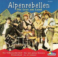 ALPENREBELLEN : DIE LEUT AM LAND / CD