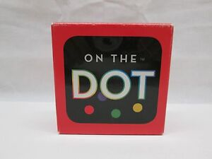 On The Dot The Super Spotted Brain Teaser Game by Brainwright 2012 Complete