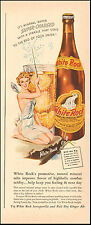 1942 Vintage ad for White Rock Sparkling Mineral Water Fairy Bottle Art(041717)