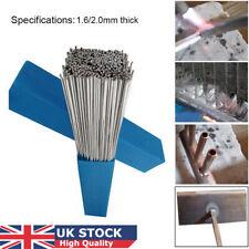 10/50 2mm * 50 cm Silver Aluminium Welding Brazing Rods Wire Low Temperature LOC