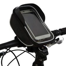 BTR Bike Handlebar Bag Bicycle Phone Holder Bag, Mount & Puncture Repair Patches