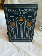 Book - Lionel Franklin's Victory:E. Van Sommer:1900