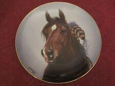 Horse collector plate Shining Spirit Derk Hansen Danbury Mint