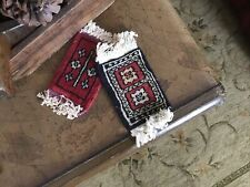 "Metropolitan Museum Of Art, Set Of 2, Assorted 'Persian' ""Coaster Rugs"", New"