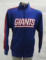 New York Giants Men's Big & Tall MT, LT, XLT, 2XL Full-Zip Track Jacket NFL A14
