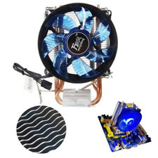 Quiet LED 3Pin Power CPU Cooler Dual Fan Heatsink For Intel LGA775 1156 1155 AMD