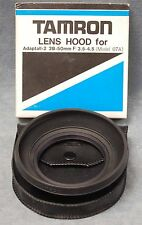 NOS TAMRON LENS HOOD FOR ADAPTALL-2 28-50MM F3.5-4.5 (07A) LENS