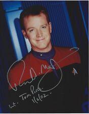 Autographs-original Television Robert Duncan Mcneill Signed Inscribed Star Trek Voyager Tom Paris 8x10 Photo #2 Online Shop