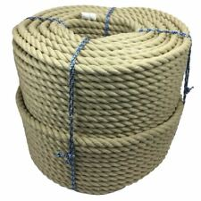 20mm Synthetic Polyhemp Decking Rope Decorative Garden Balustrade Select Length