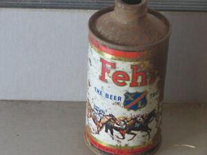 "FEHRS.  XL.  ""RACE HORSES"".  SOLID. CONE TOP"