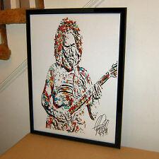 Jerry Garcia, Grateful Dead, Singer, Vocals, Lead Guitar Player, POSTER w/COA 2
