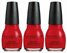 Lot of 3 - Authentic Revlon Sinful Colors Nail Polish - Choose YOUR Color!