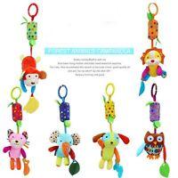 Kids Infant Plush Animal Dolls Hanging Bells Baby Crib Mobile Rattle Toys
