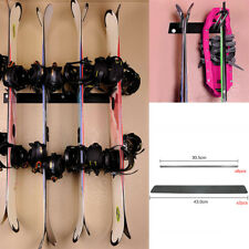 Ski & Snowboard Rack Wall Mount Storage Hanging Display Accessory