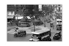 Piccadilly Circus in London City Posters Wall Art Prints Home Office Pictures