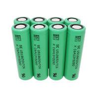 8pcs 18650 Batteries VTC6 3000mAh 3.7V Rechargeable High Drain Li-ion Battery