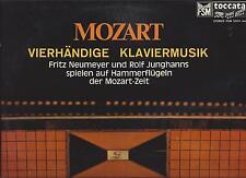 Mozart : Fritz Neumeyer und Rolf Junghanns - Vierhändige Klaviermusik Toccata FS