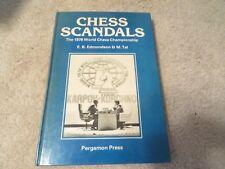 Vintage Allan Troy Chess Book-HARDBACK PERGAMON-SWEETHEART BONIUS-- Ed #1
