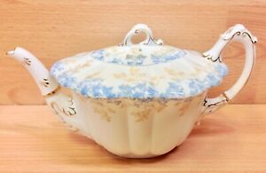 "Wileman Empire Shape ""Ivy"" Pattern 5045 Teapot."