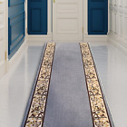 Custom Made Runner Rug Low Pile with Rubber Backing for Kitchen Foyer Hallway En