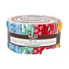 "Morningside Farm, Darlene Zimmerman, Jelly Roll Up  41 2.5x44"" Quilting Strips"