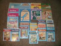 ABEKA 2nd Grade 2 Curriculum LOT Phonics Reading Letters Spelling Science Math