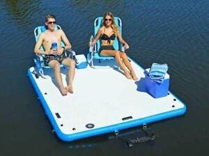 Inflatable Island,  Jet Ski Dock, Sun Deck, SUP Deck, Boat Platform,