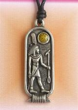 SHU Egyptian Zodiac Pendant Necklace Aquarius Pisces 26 January 24 February NEW