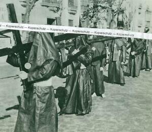Sevilla - Spanien - Prozession - El Cristo de la Muerte -  um 1960   T 10-10