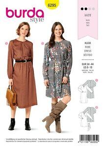 Burda Style Schnittmuster - Kleid - Midikleider - Langarmkleider - Nr.6295