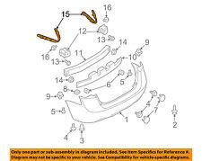 NISSAN OEM 08-13 Rogue Rear Bumper-Side Retainer Bracket Right 85220JM000
