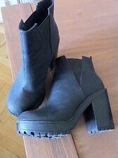 H&M Stiefel Boots schwarz Gr. 38