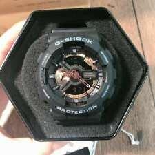 New G-Shock Men's Watch Black Dial Resin Chronograph Watch Ga110Rg-1A