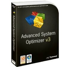 Systweak Advanced System Optimizer Registry Cleaner,Tune Speed up PC fix errors