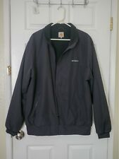 carhartt jacket blk xl fleece lining