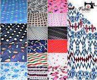 Premium Soft Brushed 100%Flannel Cotton,17 Designs 112 cm width, High Quality